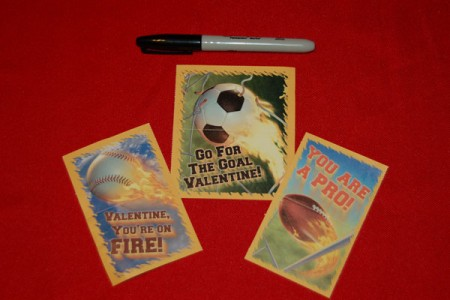 Valentine's Day Cards and Marker