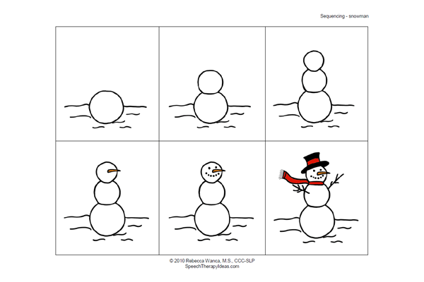 results for snowman sequencing worksheet images results for snowman ...