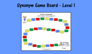 Synonym Game Board - Level 1