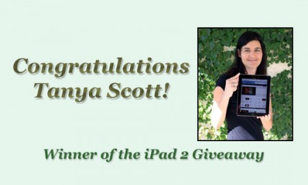 iPad 2 Winner - Tanya Scott