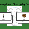 Guessing Game - Thanksgiving Theme