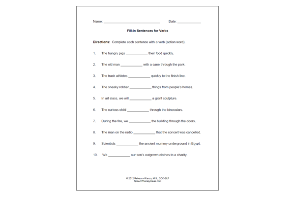 Printables Vivid Verbs Worksheet vivid verb worksheets syndeomedia