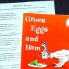 Rhyming Fill-in Story Inspired by Green Eggs and Ham by Dr. Seuss