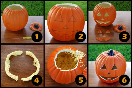 Preparing a Craft Pumpkin for Therapy in 6 Easy Steps
