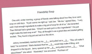 Fill-in Story for /s/: Friendship Soup