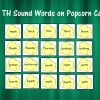 100 TH Sounds on Popcorn Cards