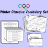 Winter Olympics Vocabulary Set