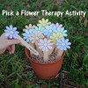 Pick a Flower Therapy Activity