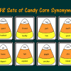 48 Sets of Candy Corn Synonyms