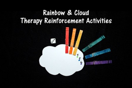 Rainbow and Cloud Therapy Reinforcement Activity
