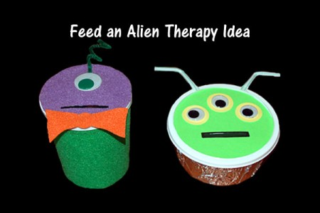 Feed an Alien Therapy Idea