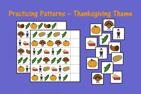 Practicing Patterns - Thanksgiving Theme