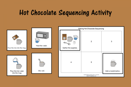 Hot Chocolate Sequencing Activity