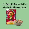 St. Patrick's Day Activities with Lucky Charms Cereal