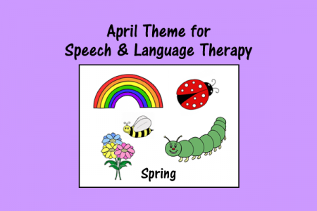 April Theme for Speech and Language Therapy