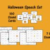Halloween Speech Set