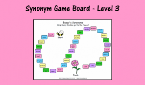 Synonym Game Board - Level 3