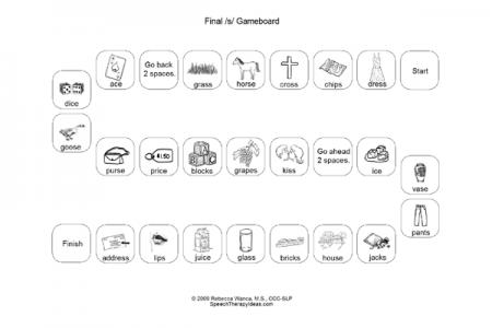 Final /s/ Game Board