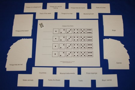 Category Dice Game