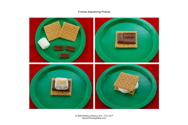 S'mores Sequencing Pictures