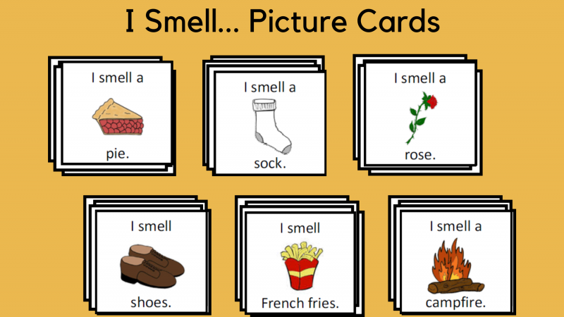I Smell… Picture Cards