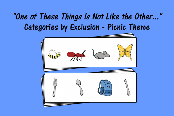 Categories by Exclusion – Picnic Theme