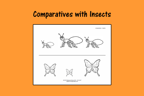 Comparatives with Insects