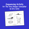 Sequencing Activity for The Very Hungry Caterpillar