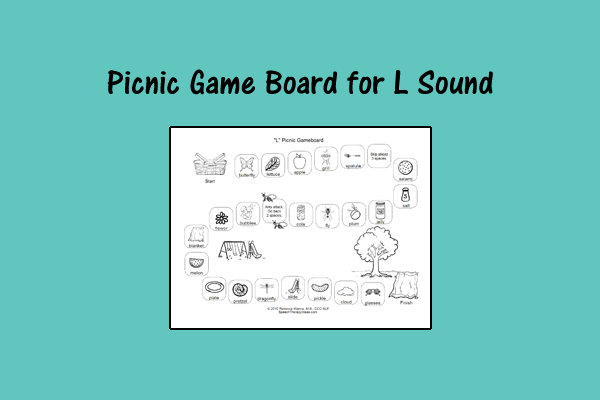 Picnic Game Board – L Sound
