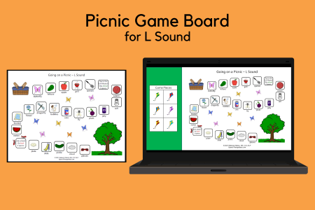 PIcnic Game Board - L Sound