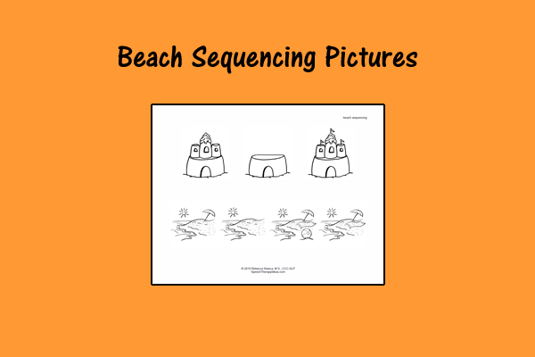 Beach Sequencing Pictures