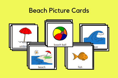 Beach Picture Cards