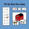 Fill the Barn Dice Game