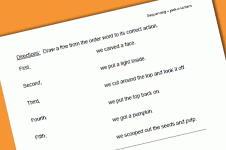 Pumpkin Carving Worksheet