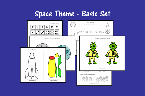 Space Theme – Basic Set