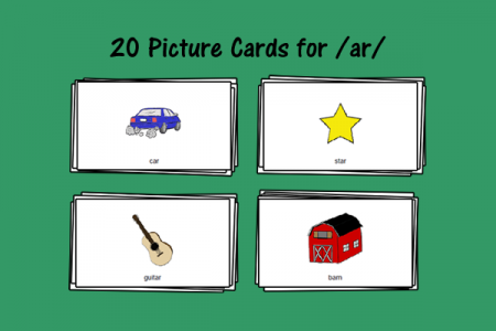 Picture Cards for /ar/