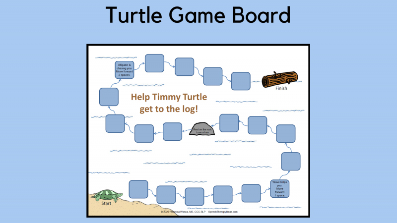 Turtle Game Board