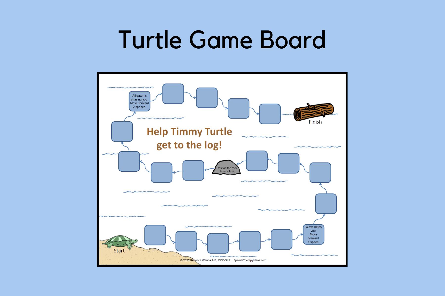 Turtle Game Board