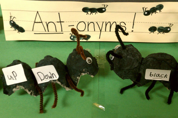 Antonyms Activity and Printable