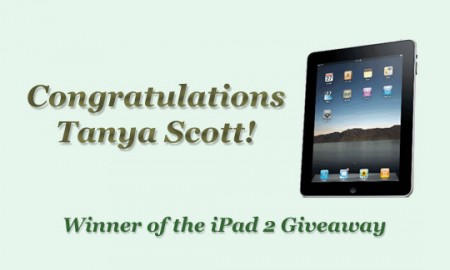 iPad 2 Winner: Tanya Scott