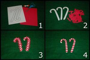 Candy Cane Therapy Craft