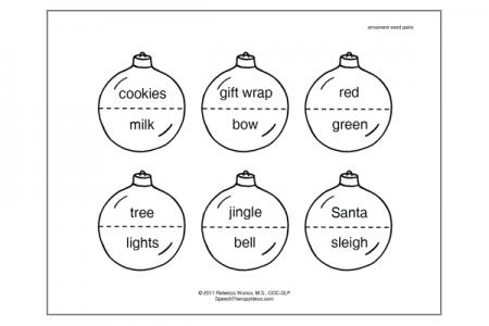 Christmas Ornament Matchup