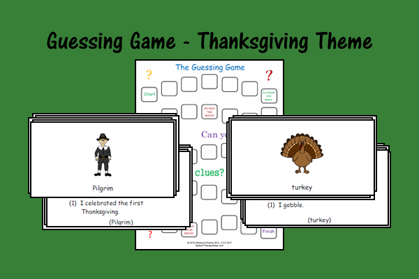Guessing Game – Thanksgiving Theme