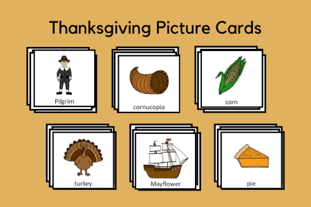 Thanksgiving Picture Cards