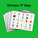 Christmas Bingo For R Sounds