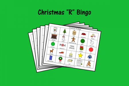 "Christmas ""R"" Bingo"