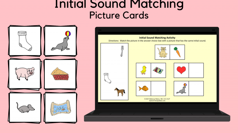 Initial Sound Matching Picture Cards