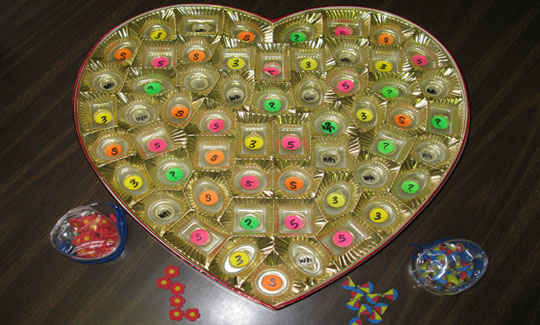 Valentine Chocolate Box Activity