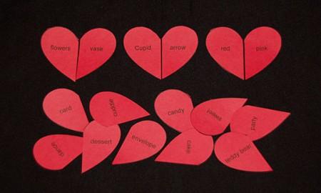 Valentine's Day Heart Match Ups