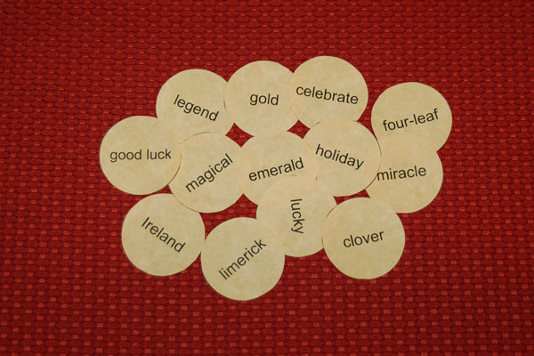 Looking for Gold Speech Therapy Activity for St. Patrick's Day